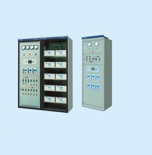 Series (microcomputer control) dc power supply cabinet